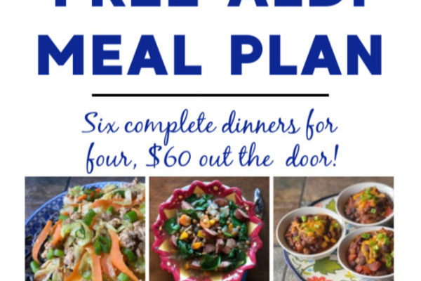 Mashup Mom Meal Plan week of 1/12/20