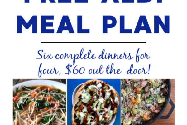 Mashup Mom Meal Plan week of 2/2/20