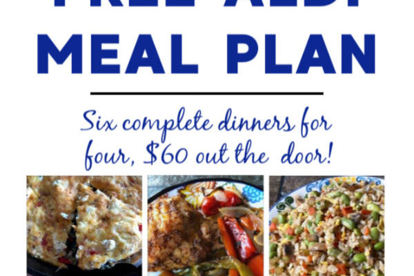 Mashup Mom Meal Plan week of 1/19/20