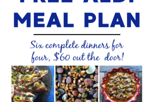 Mashup Mom Meal Plan week of 1/26/20
