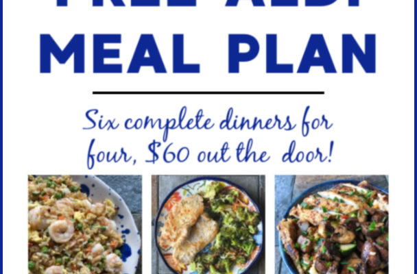 Mashup Mom Meal Plan week of 1/5/20