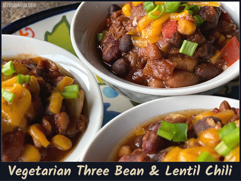 Vegetarian Chili with Beans & Lentils — An almost all ALDI recipe