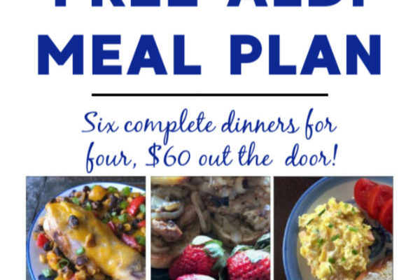 Mashup Mom meal plan week of 2/9/20