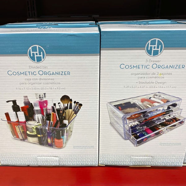 Huntington Home cosmetic organizer at ALDI
