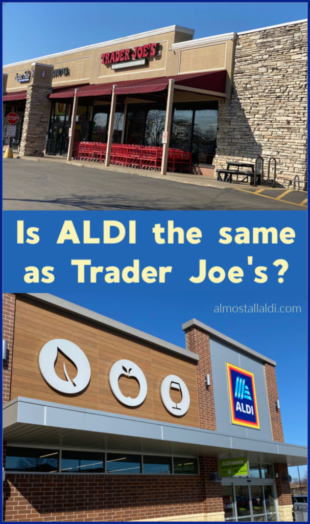 Is ALDI the same as Trader Joe's? Where this belief came from, and how ALDI in the U.S. and Trader Joe's are related.