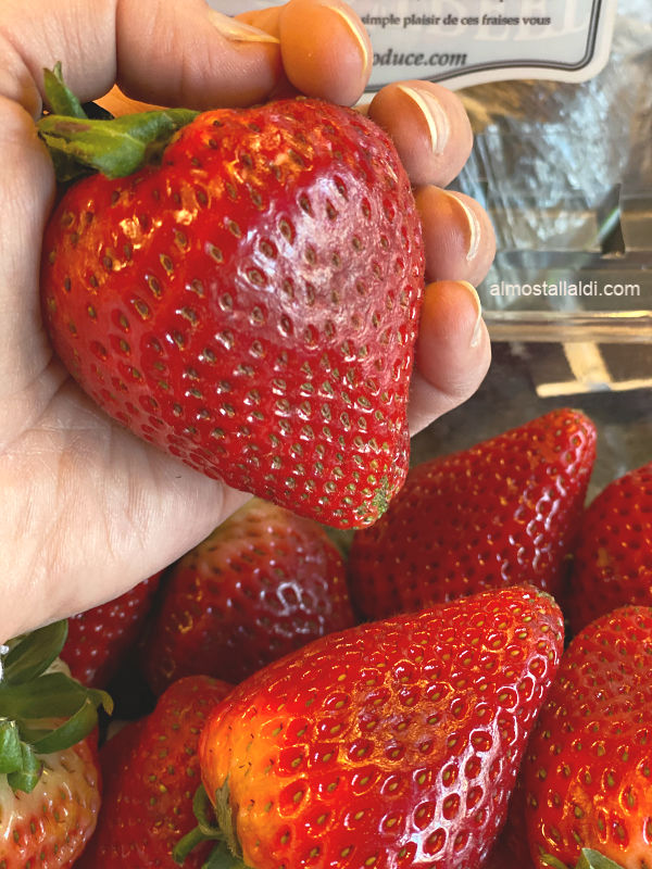 Look at these strawberries! And more ALDI Finds this week