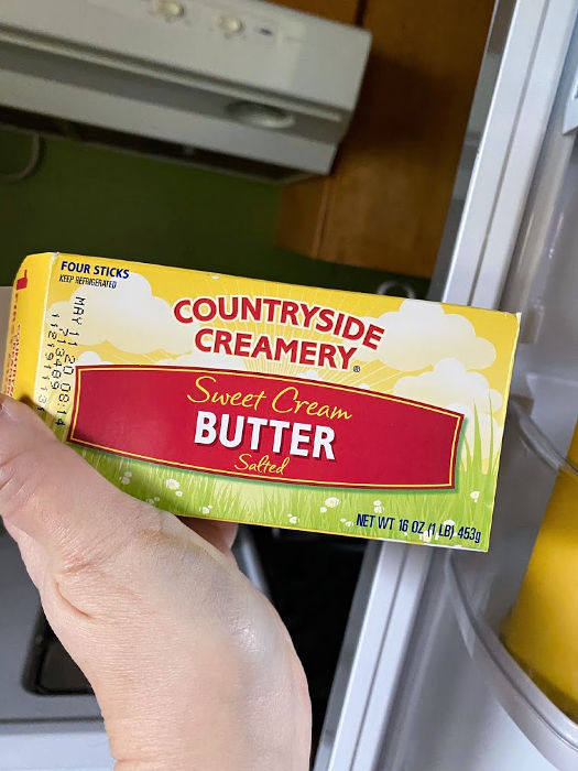 Countryside Creamery butter from ALDI