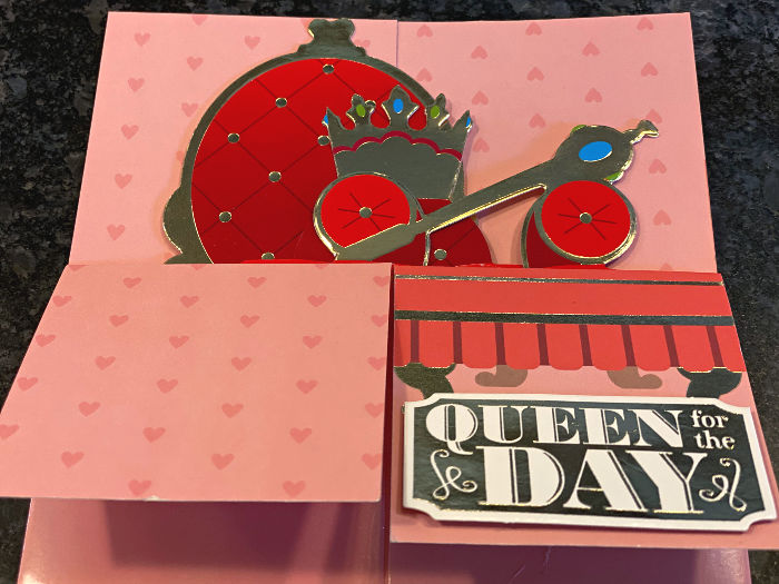 Pembrook pop-up mother's day cards at ALDI
