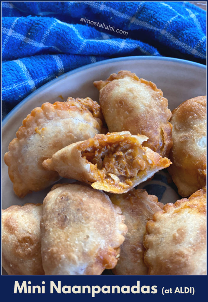 A review of butter chicken Journey to India mini naanpanadas at ALDI: A delicious ALDI Find, as a limited time special buy.