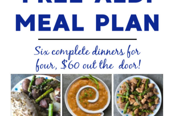 Mashup Mom meal plan week of 5/10/20