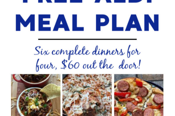 Mashup Mom meal plan week of 5/17/20