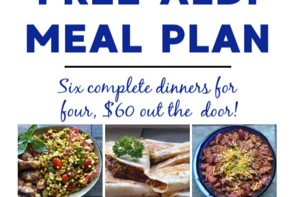 Mashup Mom meal plan week of 5/24/20