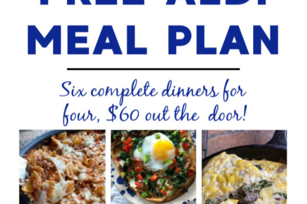 Mashup Mom meal plan week of 5/3/20