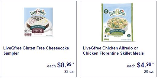 liveGfree gluten free cheesecake and more Celiac Awareness Month gluten free ALDI food