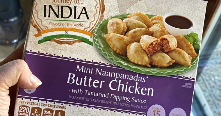 An ALDI Mini Naanpanadas Review