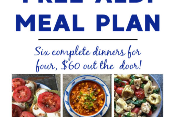 Mashup Mom ALDI Meal Plan week of 6/14/20