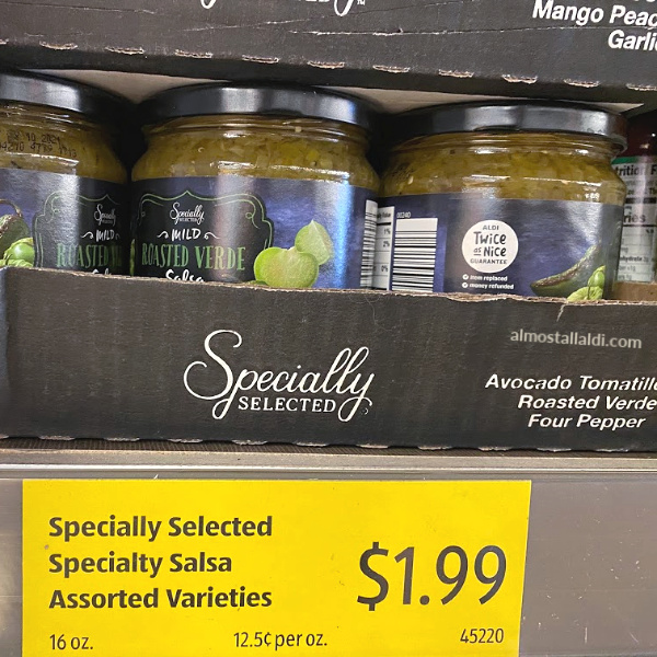 ALDI now has Salsa Verde, and I'm there for it!