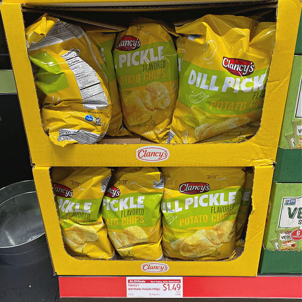 From pickle potato chips to reusable straws in this week's ALDI Finds