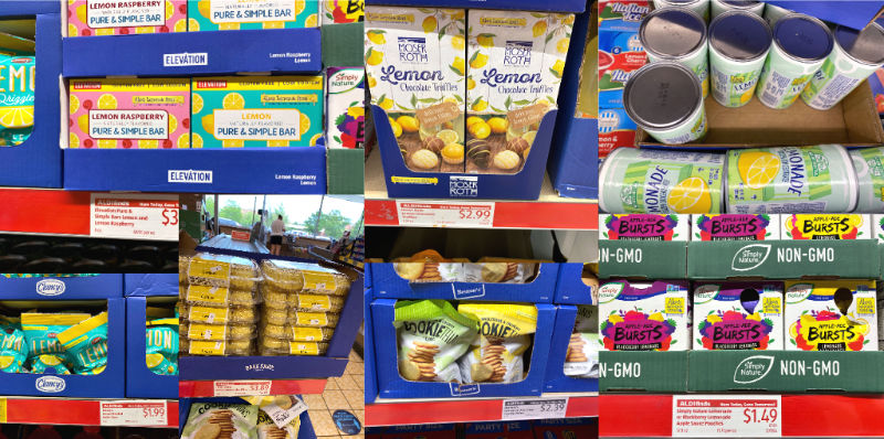 Lemon-themed ALDI food to support childhood cancer research