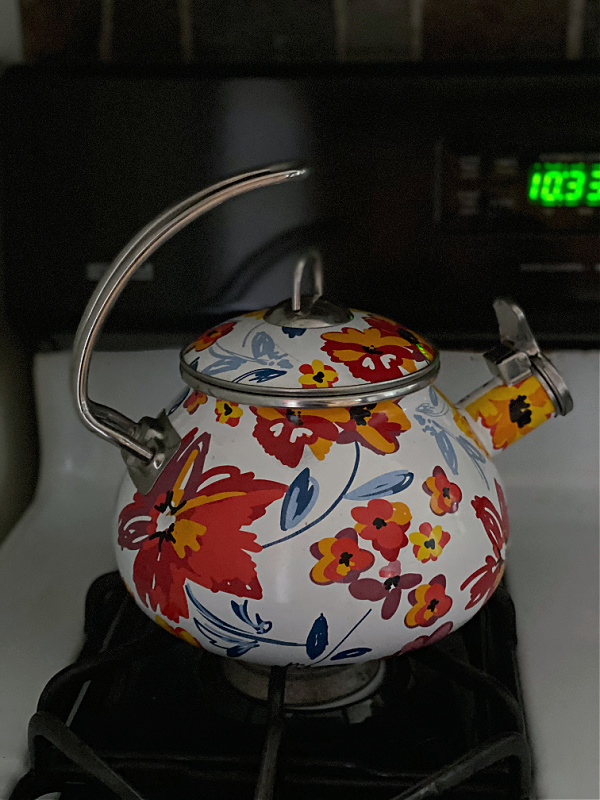 colorful teapot from ALDI