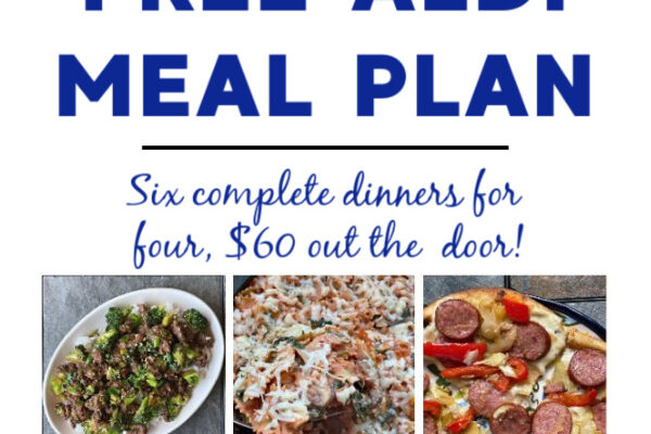 Mashup Mom Meal Plan week of 9/13/20