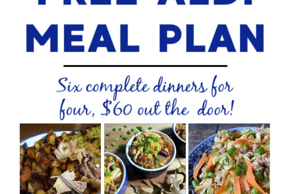 Mashup Mom Meal Plan week of 9/20/20