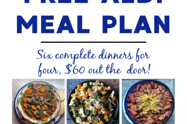 Mashup Mom Meal Plan week of 9/27/20