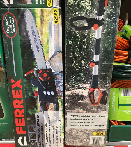 ALDI chain saw
