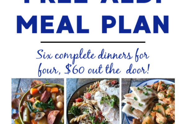 Mashup Mom ALDI Meal Plan week of 10/11/20