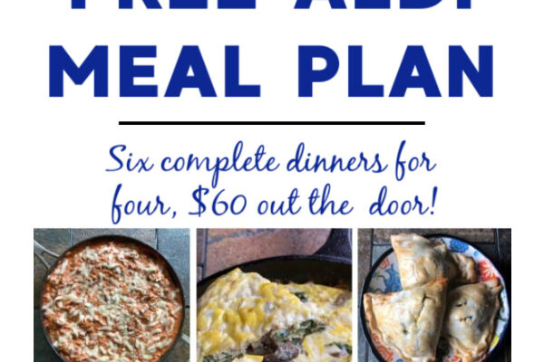 Mashup Mom ALDI Meal Plan week of 10/25/20
