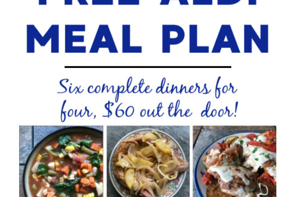 Mashup Mom Meal Plan week of 10/4/20