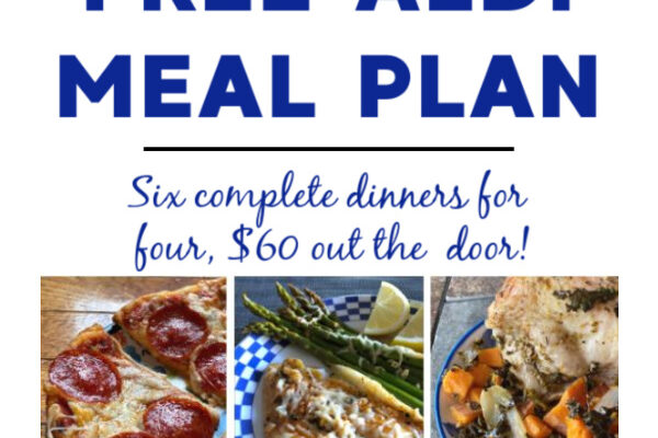 Mashup Mom ALDI Meal Plan week of 10/18/20