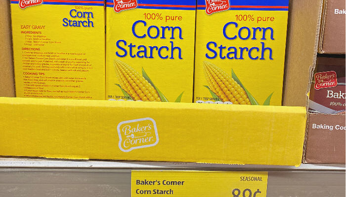 Why is cornstarch seasonal? Plus more ALDI holiday baking Finds