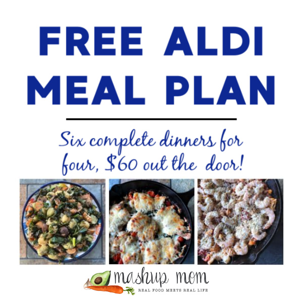 Mashup Mom ALDI Meal Plan week of 11/8/20