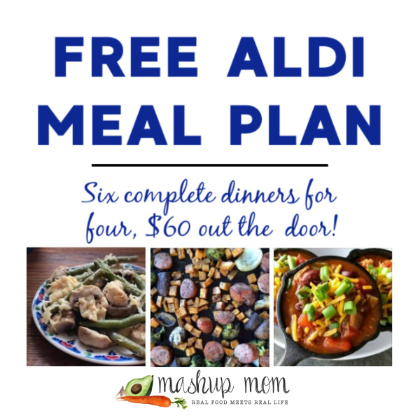 Mashup Mom ALDI Meal Plan week of 11/22/20
