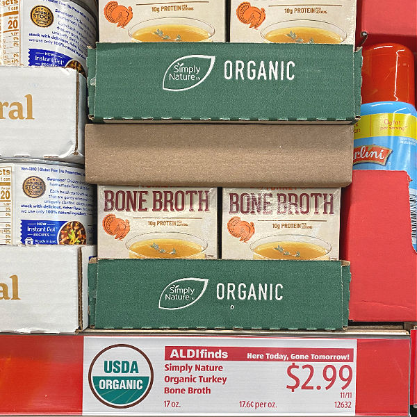organic turkey bone broth