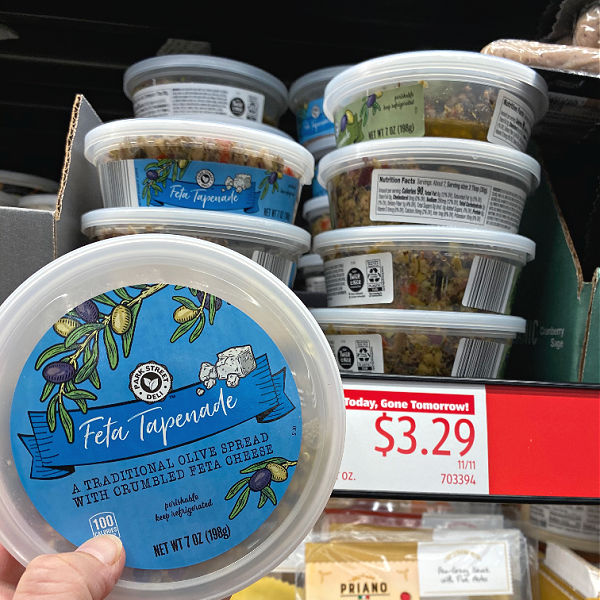 tapenade at aldi