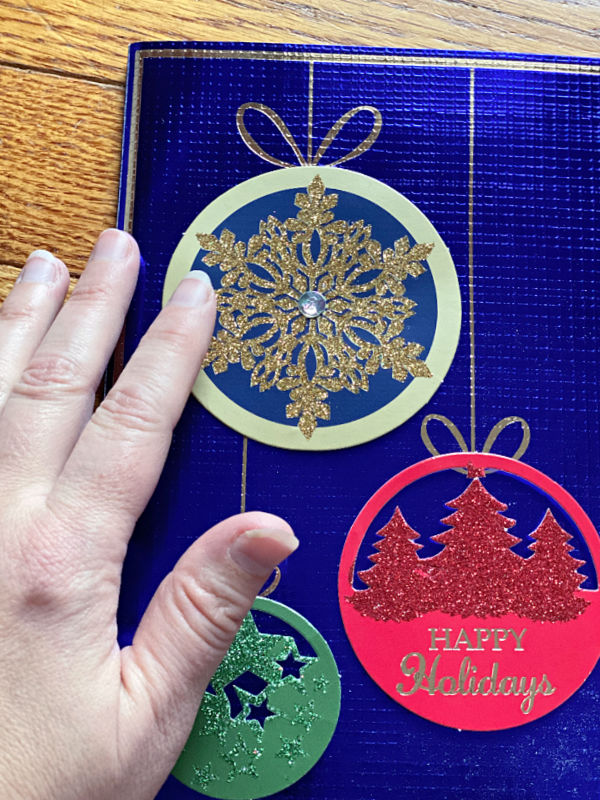 ALDI cards are bigger than my hand