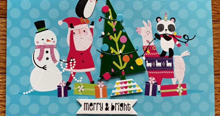 $.99 Christmas Cards at ALDI — and they're so nice!