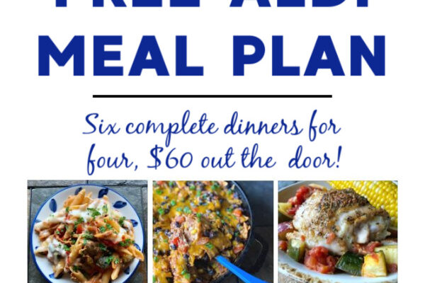 Mashup Mom ALDI Meal Plan week of 11/29/20