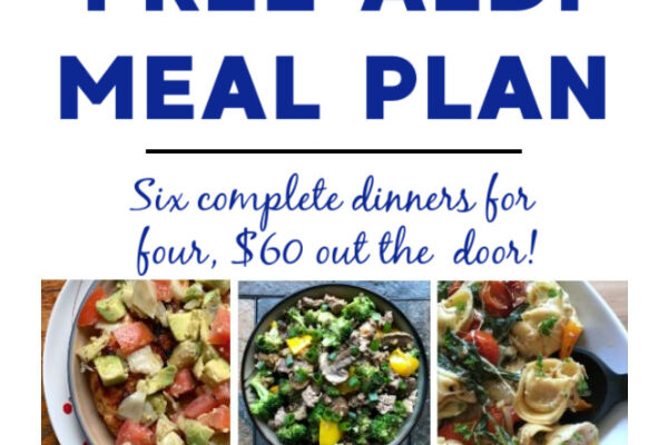 Free ALDI Meal Plan week of 12/13/20