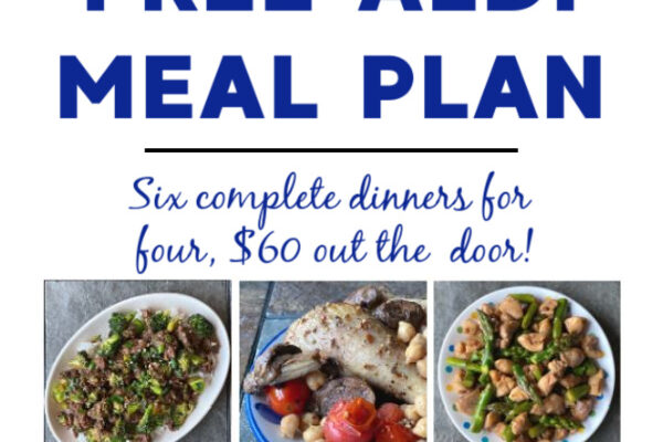 Mashup Mom ALDI Meal Plan week of 12/6/20