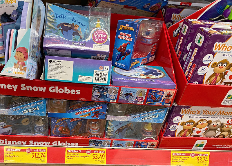 clearance toys at aldi
