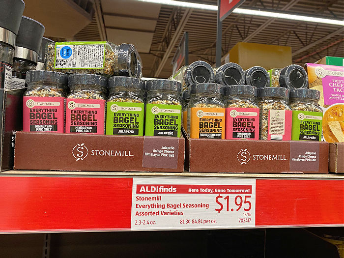 Everything everything bagel seasoning, spiral ham, and more ALDI Finds