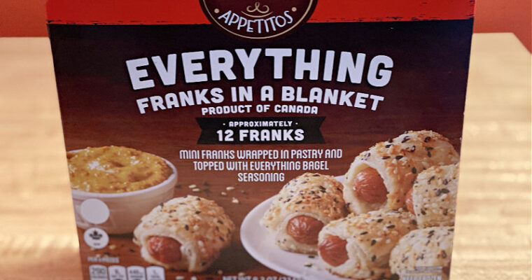 An ALDI Everything Franks in a Blanket Review