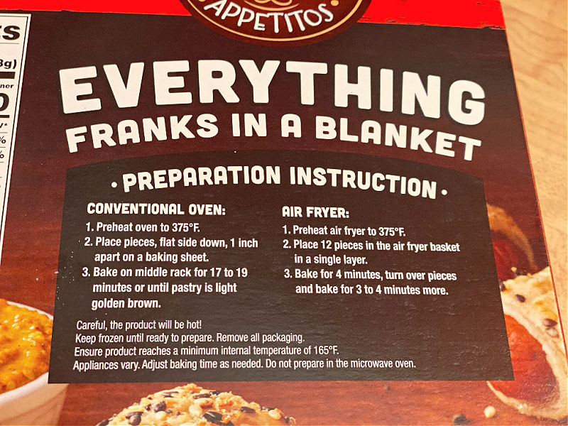 everything franks instructions