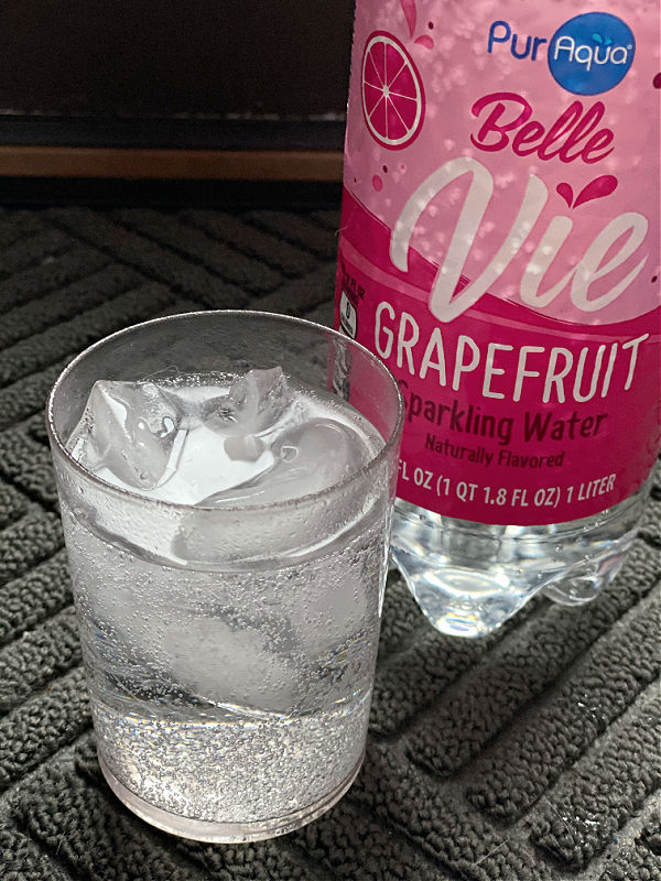 bubbly grapefruit water from aldi