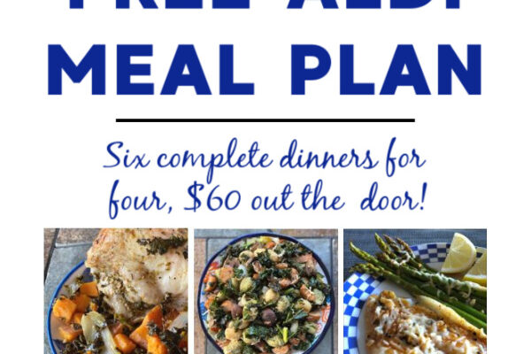 Mashup Mom ALDI Meal Plan week of 2/28/21