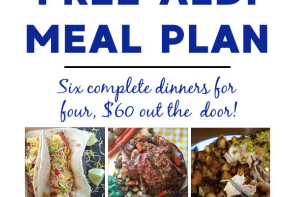 Mashup Mom ALDI Meal Plan week of 3/14/21