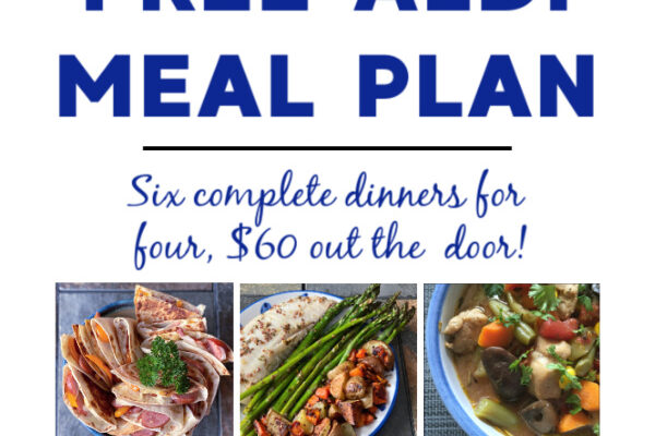Mashup Mom ALDI Meal Plan week of 3/21/21